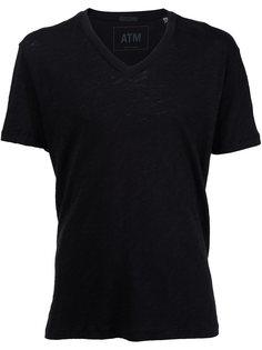 мешковатая футболка с V-образным вырезом Atm Anthony Thomas Melillo