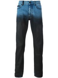 джинсы кроя слим с градиентным эффектом  Marcelo Burlon County Of Milan