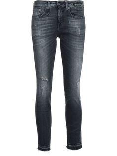 укороченные джинсы кроя скинни R13
