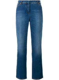 расклешенные джинсы Rockstud  Valentino