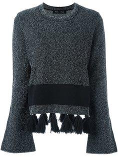 свитер с кисточками по подолу Proenza Schouler