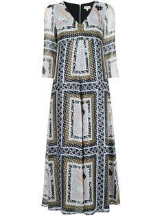 платье с V-образным вырезом Suno