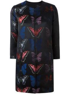 пальто с бабочками Philipp Plein