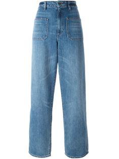 широкие джинсы  Helmut Lang