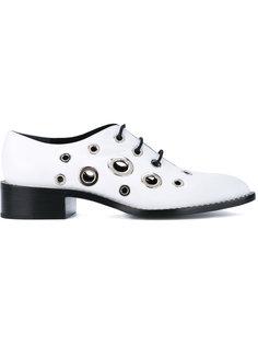 туфли с люверсами  Proenza Schouler
