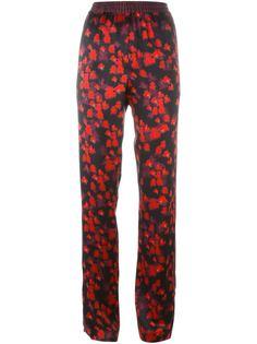 брюки с принтом Givenchy