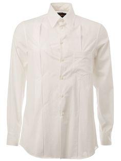 плиссированная рубашка  Uma Wang