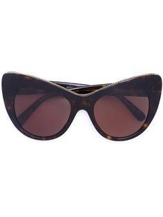 """солнцезащитные очки  с оправой """"кошачий глаз"""" Stella Mccartney Eyewear"""