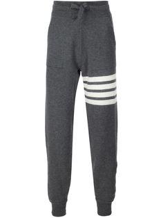 спортивные брюки с контрастными полосками Thom Browne