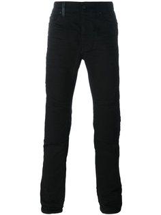 джинсы кроя слим  Marcelo Burlon County Of Milan