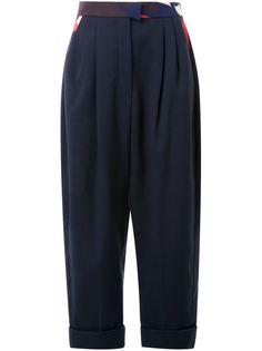 укороченные брюки  Delpozo