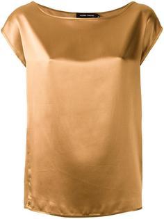 блузка с вырезом лодочкой  Gloria Coelho