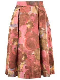 юбка-миди с принтом Gloria Coelho