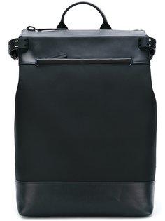 рюкзак из ткани и кожи Troubadour