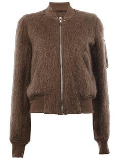 куртка-бомбер Raglan Rick Owens