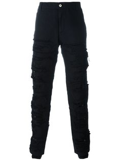 брюки с ремешками Hood By Air