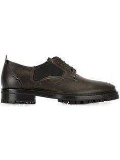 туфли дерби с эластичными панелями Lanvin