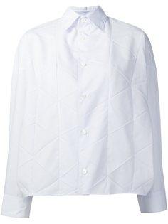 рубашка с панельным дизайном  Junya Watanabe Comme Des Garçons