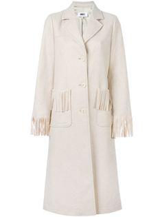пальто Frill Frill Mm6 Maison Margiela