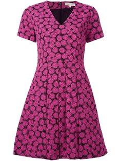 платье с лиственным принтом Michael Michael Kors