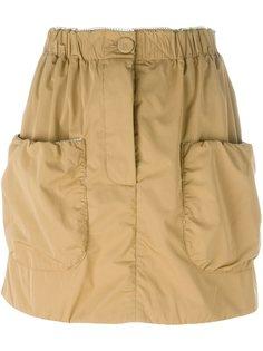 мини-юбка с накладными карманами JW Anderson