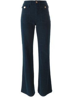 вельветовые расклешенные брюки  See By Chloé