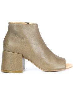 ботинки с открытым носком Mm6 Maison Margiela