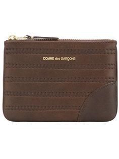 кошелек для монет Embossed Stitch Comme Des Garçons Wallet