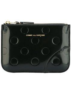кошелек Polka Dots Embossed Comme Des Garçons Wallet