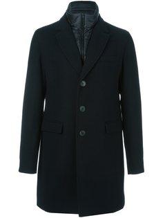 пальто с двойным воротником Herno