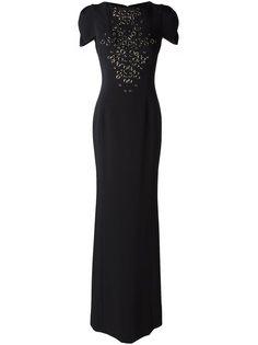 вечернее платье с люверсами Antonio Berardi