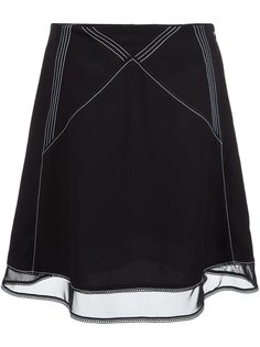 юбка с декоративным швом JW Anderson