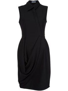 платье с драпированными деталями  JW Anderson