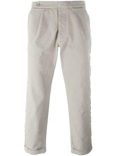 брюки с лампасами Palm Angels