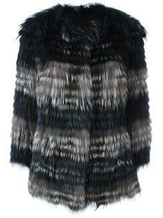 куртка из лисьего меха Yves Salomon