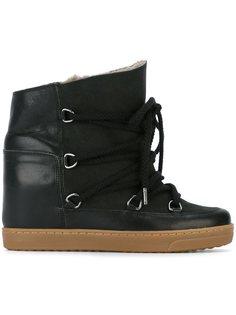 ботинки на шнуровке Étoile Nowles  Isabel Marant