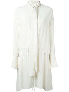платье с повязкой на шее Chloé