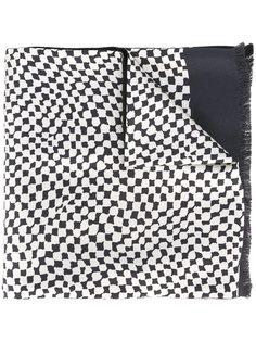 шарф с абстрактным принтом   Haider Ackermann