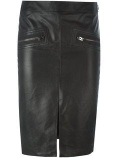 юбка-карандаш с карманами на молнии Tom Ford