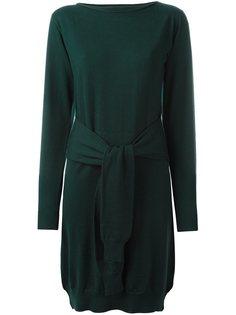 трикотажное платье с длинными рукавами Mm6 Maison Margiela