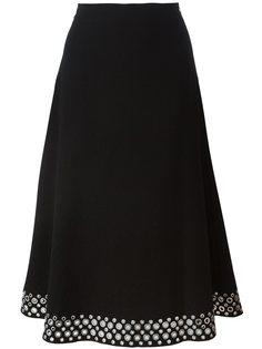 декорированная юбка с люверсами Alexander Wang