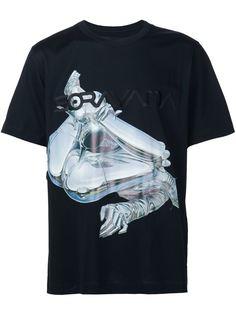 футболка с принтом робота Juun.J