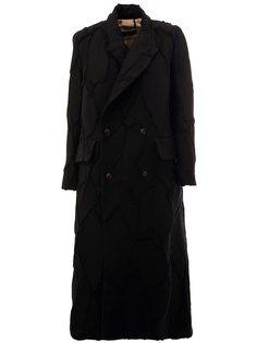 однобортное пальто  Uma Wang