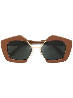 солнцезащитные очки Edge Marni Eyewear