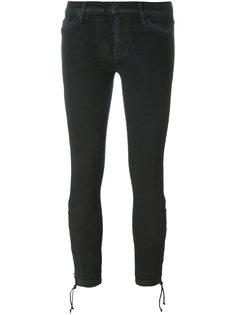 укороченные брюки со шнуровкой внизу Hudson