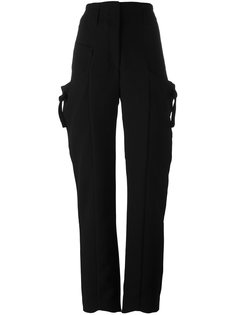 брюки с завышенной талией JW Anderson