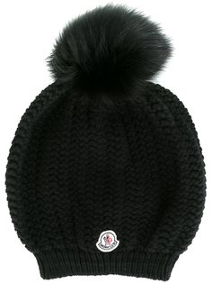шапка-бини с помпоном  Moncler