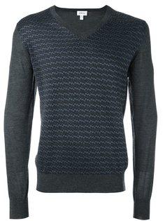 свитер c V-образным вырезом  Brioni