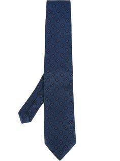 галстук с цветочным узором Etro