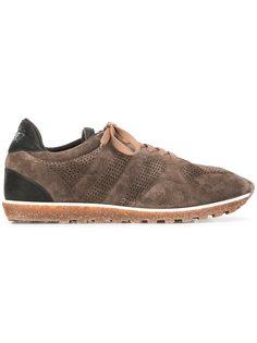 кроссовки с панельным дизайном Alberto Fasciani
